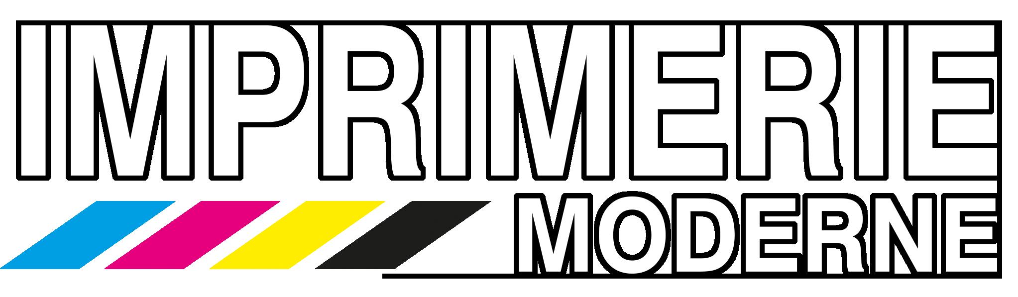 logo imprimerie moderne